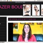 Bettyblazer.com Payment Page