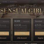 Sensual Girl Working Account