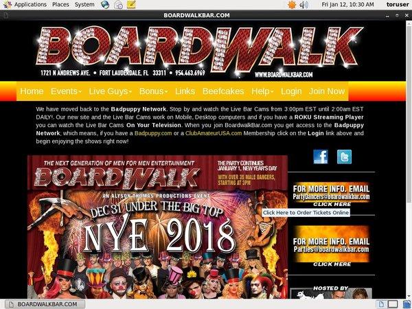 Get A Free Boardwalkbar Password