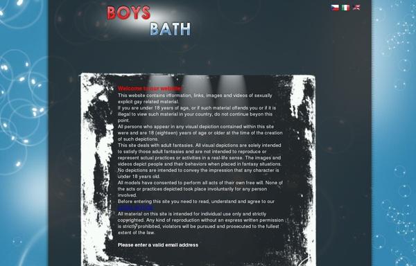 Get Boysbath Trial Membership