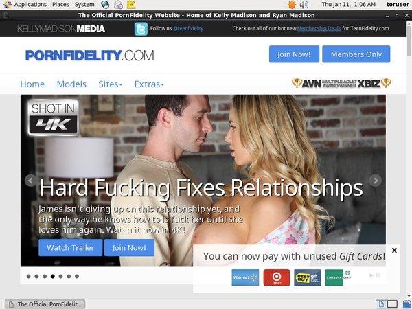 Free Password To Porn Fidelity